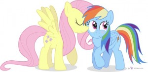 Flyttershy_RainbowDash