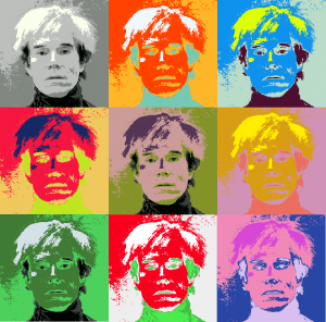 """Me"" av Andy Warhol"