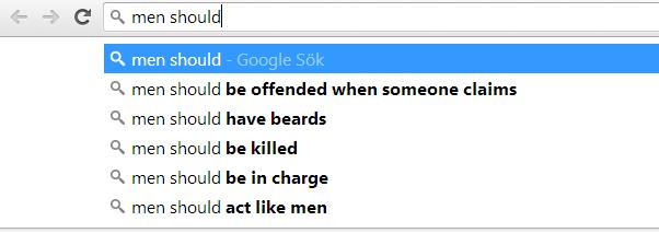 Googlesök
