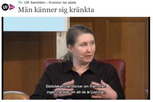 Johanna Andersson - En genusvetare som inger hopp!