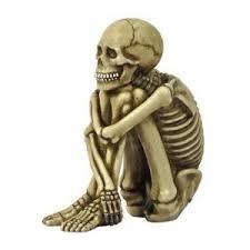 ensamt skelett