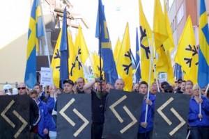 svenskarnas partis kravallpolis
