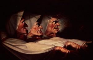 tre häxor