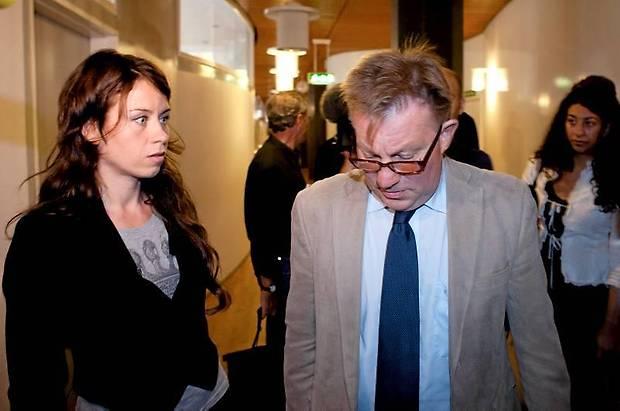 Claes Borgström med Anna Odell