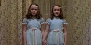 De två flickorna i The Shining