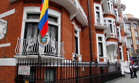 Ecuadors ambassad i London