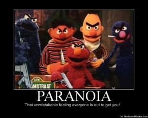 Paranoia mupp-stil