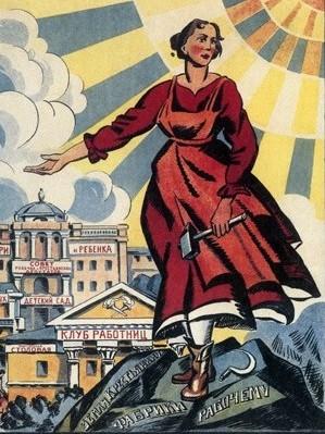 Kvinnlig arbetare, Sovjet