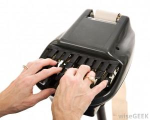stenografmaskin