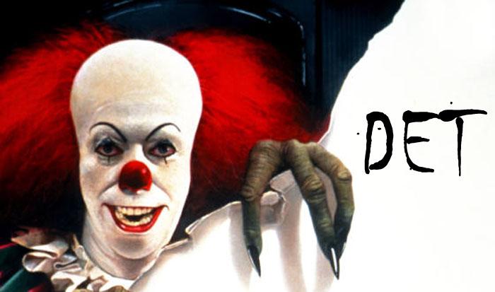 Pennywise, en allt annat än patetisk clown