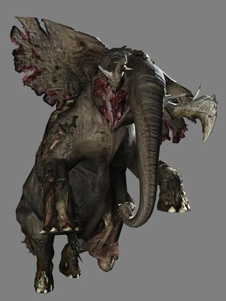 Zombie-elefant
