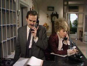 Basil o Sybil i Fawlty Towers