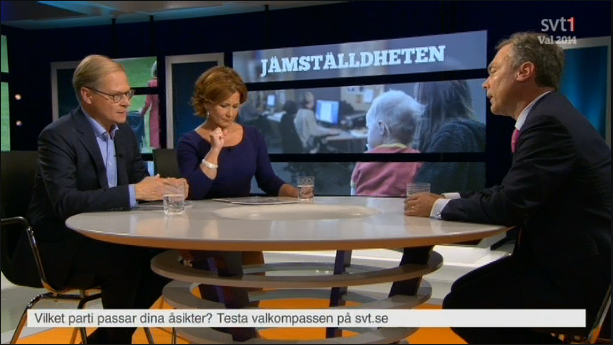 Jan Björklund, utfrågning