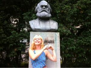 Elina Pahnke och Karl Marx