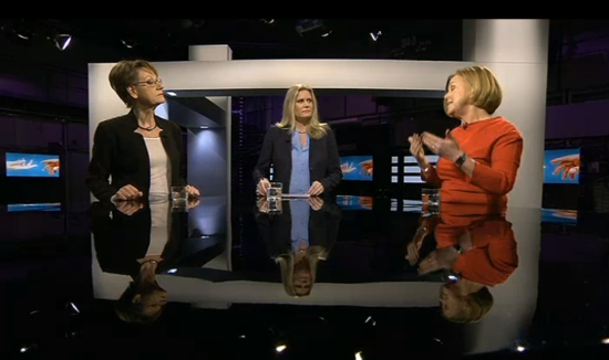 Jämställdhetsdebatt på SVT - här får alla sorters radikalfeministiska röster höras, från Gudrun Schyman till Maria Arnholm. Mångfald när den är som bäst.