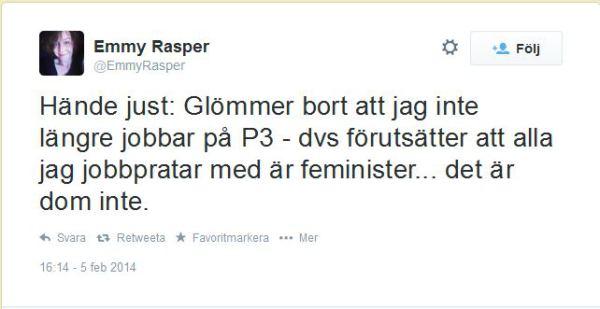 Sveriges Radio - alla är feminister