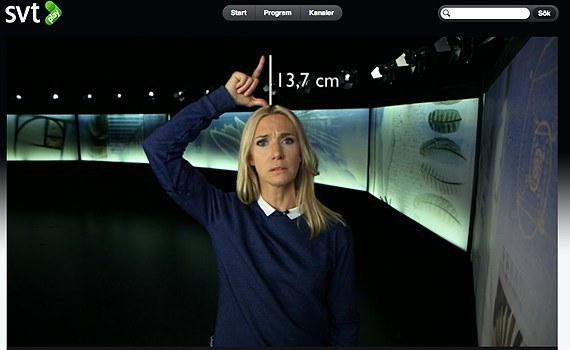 Den feministiska vitamininjektionen Victoria Dyring på SVTs Vetenskapens Värld motbevisar - tack vare sin bergfasta feministiska tro - evolutionsteorin.