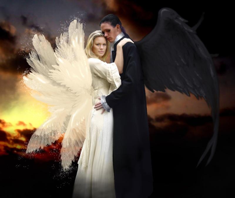 ängel och demon