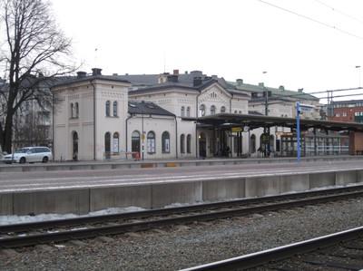 Gästinlägg: Järnvägsstationen som patriarkatets knutpunkt