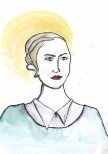 Arsinoe, självporträtt