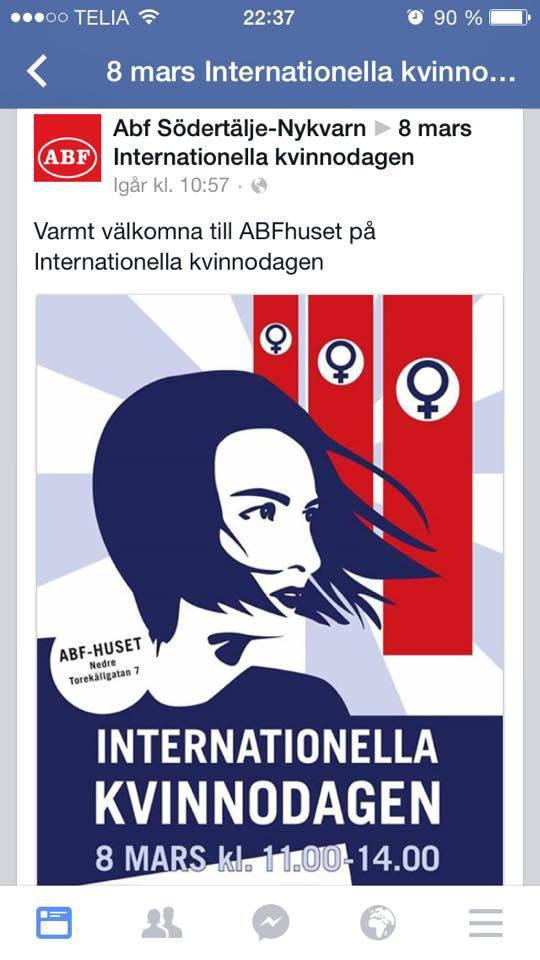 Kvinnodagen Affisch