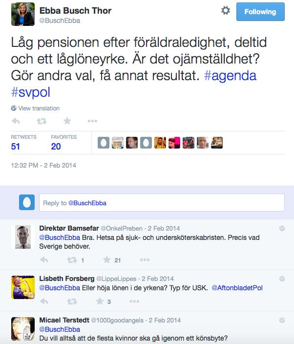 Ebba Busch Thor om valfrihet