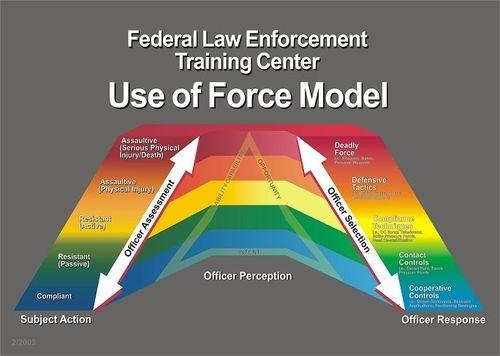 """Semestrande poliser och """"force continuum"""""""
