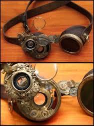 Feministers märkliga glasögon? Bildkälla https://www.pinterest.com/yvesdelyle/steampunk-goggles/