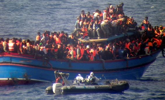Båtflyktningar