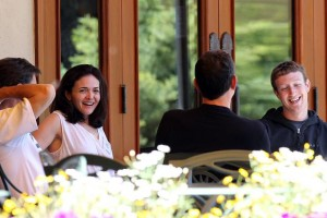 Sheryl Sandberg & Mark Zuckerberg