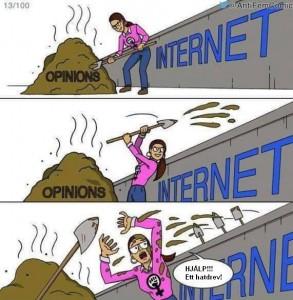 Svensk feministisk press