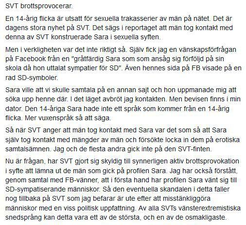 Raggar Sara SD-politiker