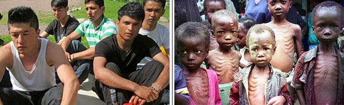 flyktingbarn och andra