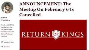 Return of Kings meetup