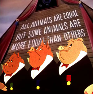 Animal farm All animals are equal