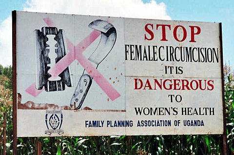 Campaign_road_sign_against_female_genital_mutilation_(cropped)_2 circumcision