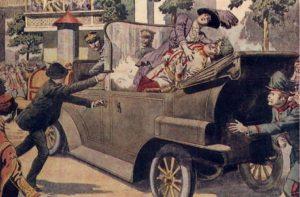 Första världskrigets utlöses