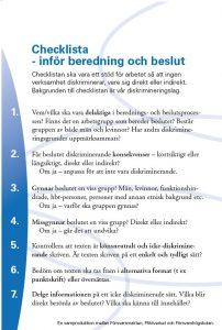 checklista beredning beslut