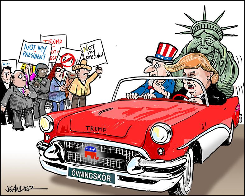 Ser vi ett försök till en förtäckt statskupp i USA?