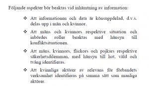 aspekter informationsinhämtning