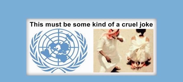 FN är nu ett skämt. Mänskliga rättigheter + Vänsterfeminism + Saudiarabien = Sant.