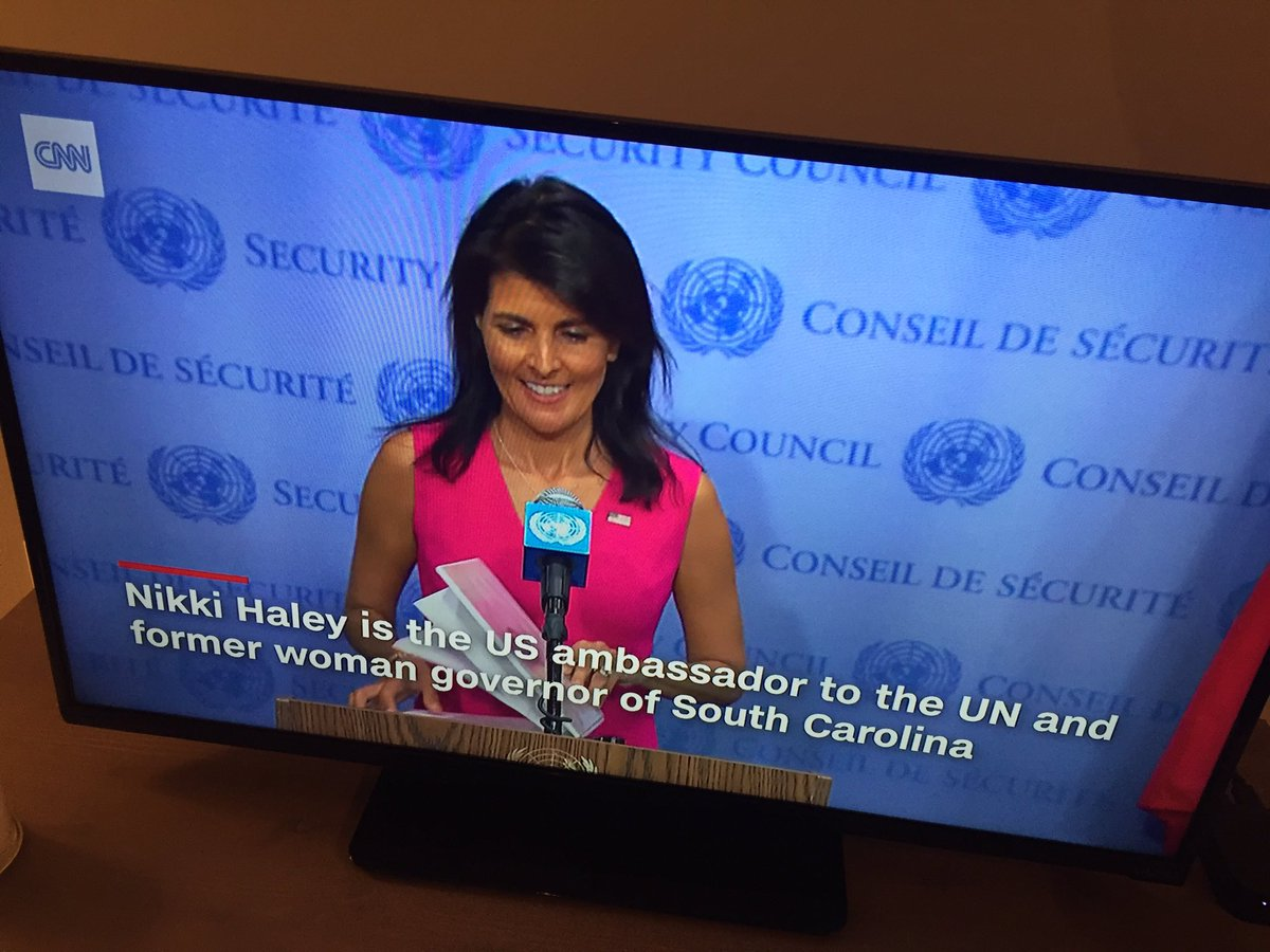 "Nikki Haley – ""Former Woman Governor"" ?"