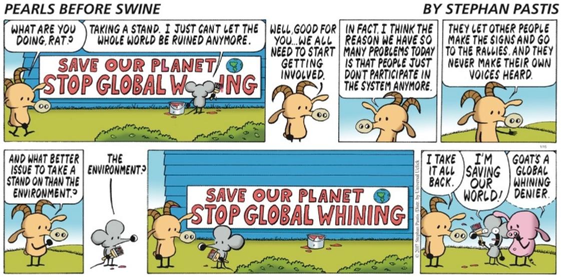 Varför inte gå hela vägen och rädda planeten med en ny förintelse?